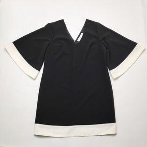 Ali & Jay Colorblock Shift Dress Kimono Sleeves S